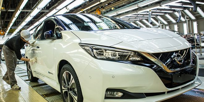 Production of new Nissan LEAF to begin in US and UK REVISTA AUTO MOTORES INFORMA